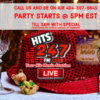 NEW YEARS EVE PARTY SHOW And Midnight PARTY MIX LIVE!